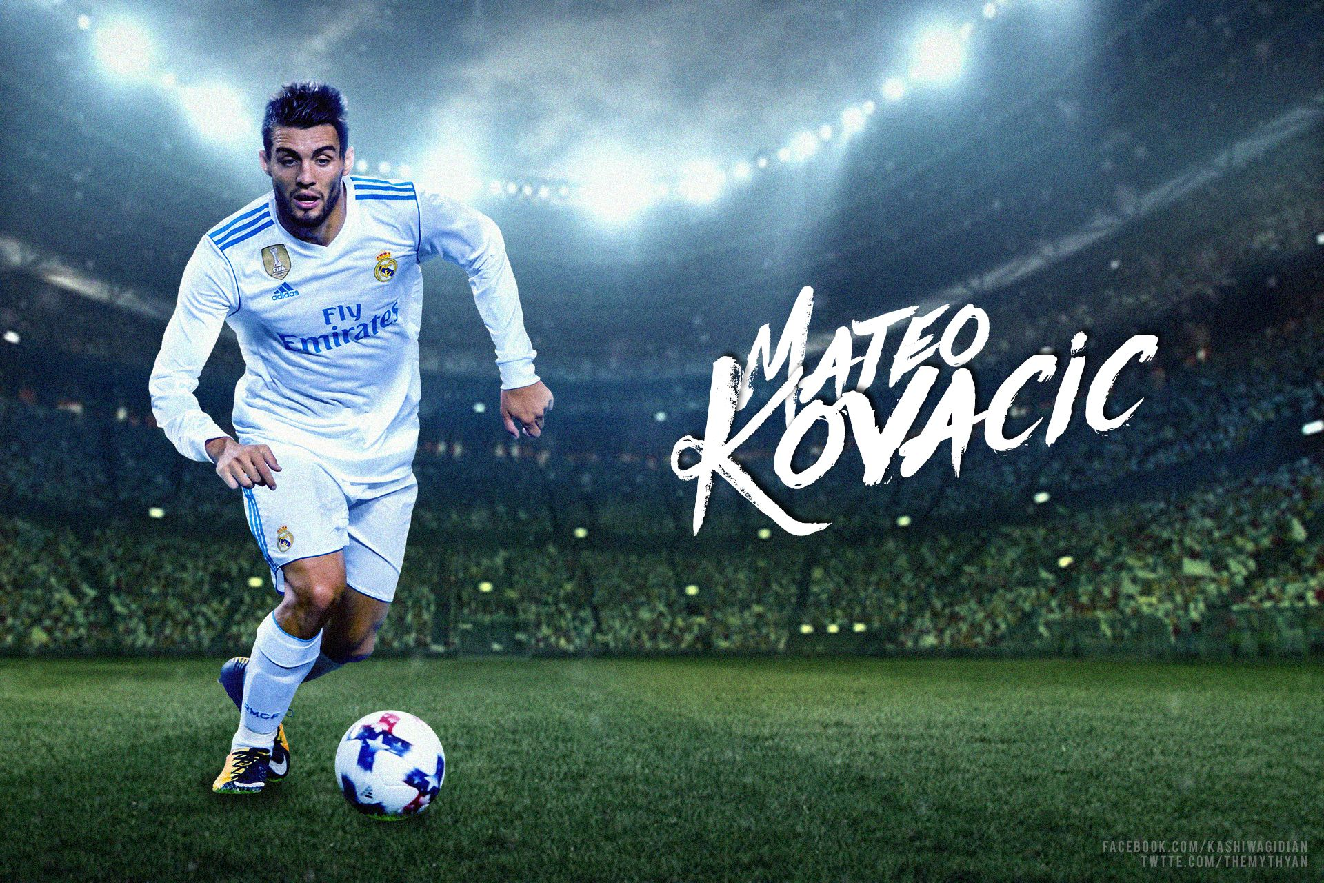 Mateo Kovacic Real Madrid Wallpaper 2017/18 by dianjay on DeviantArt