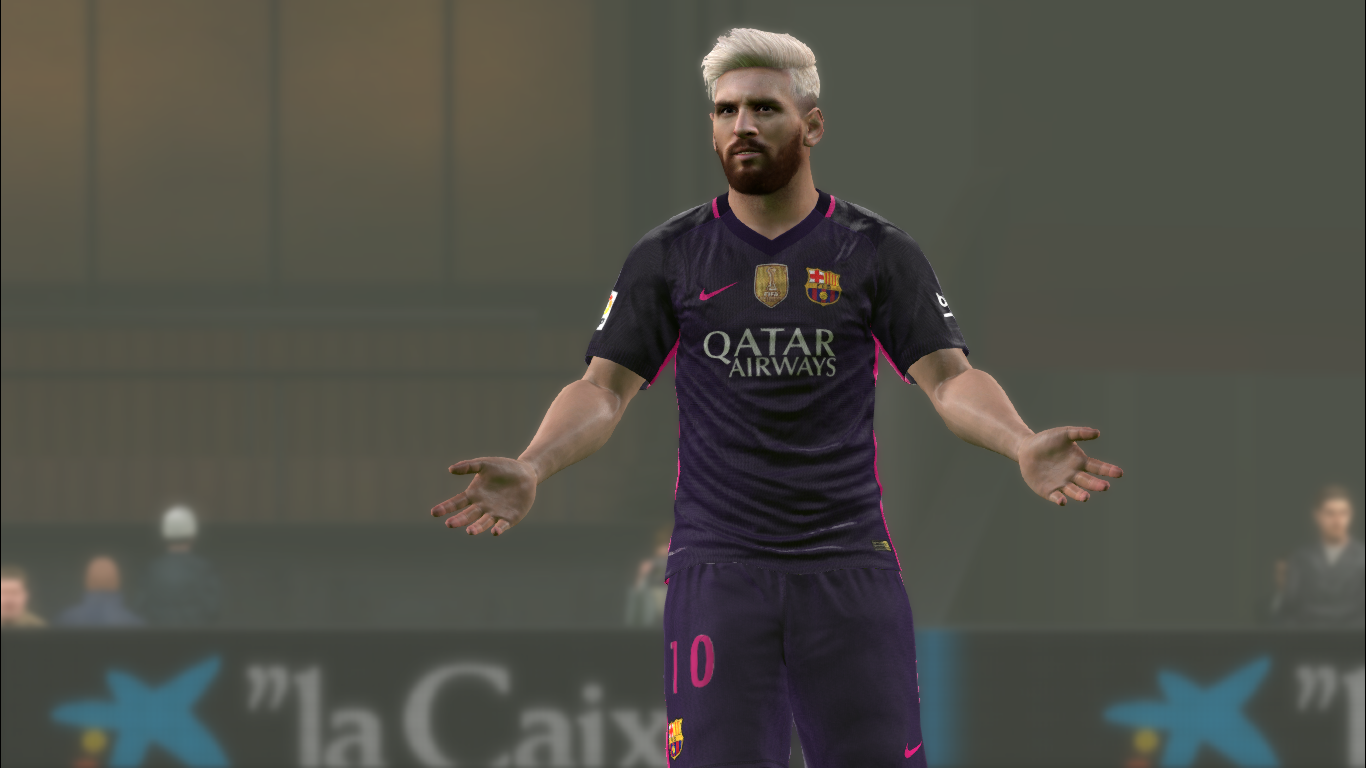 Lionel Messi | New Hair | Pes2016 Pc | By OZy_96 | PesFreeDownloads