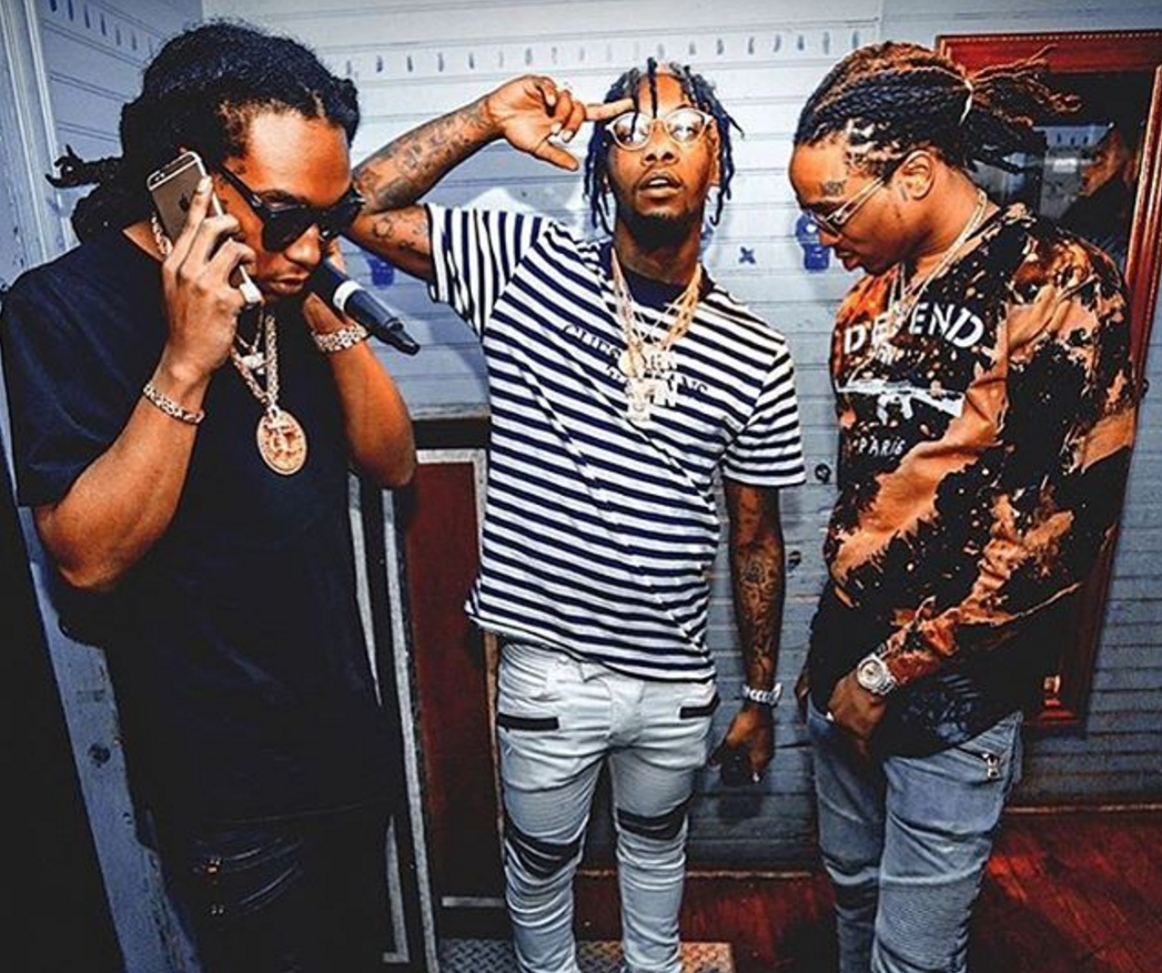 Prolific rap group Migos have just released their newest single ...