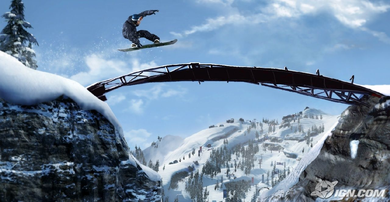 Shaun White Snowboarding video game ~ Top Game Wallpaper