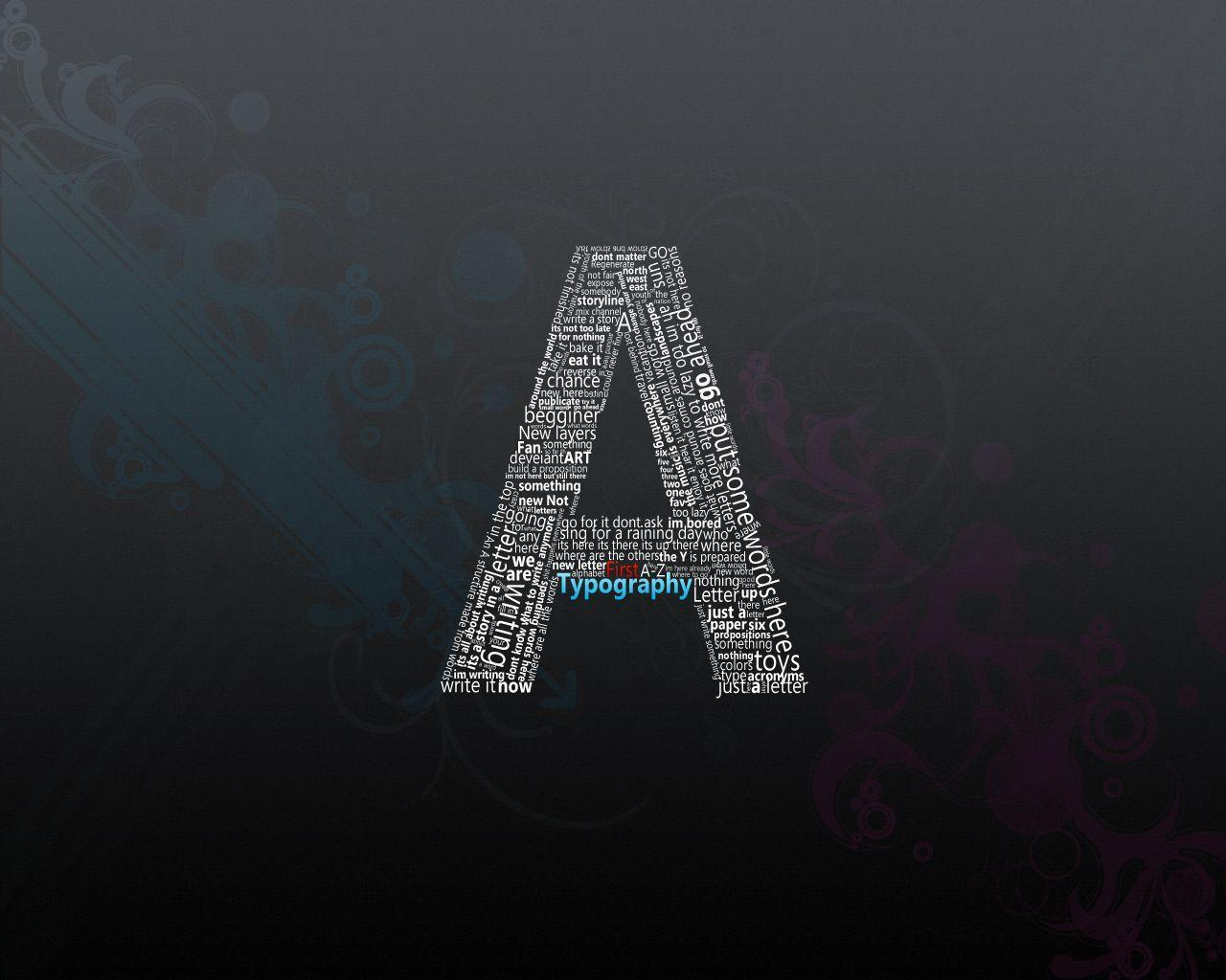 Letter A Wallpaper - WallpaperSafari