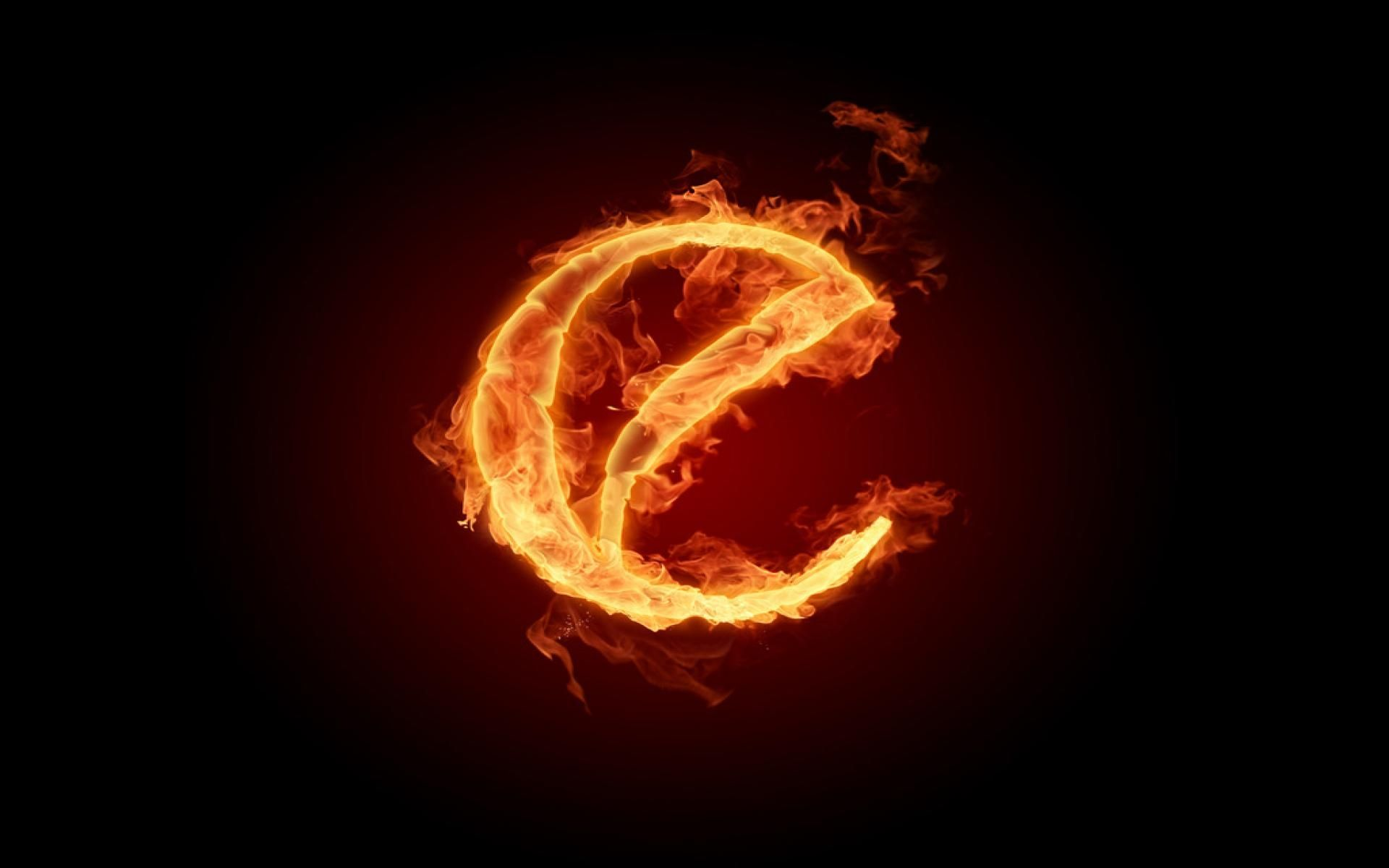 Free HD Burning Fire Letter E Wallpapers - Ventube.com