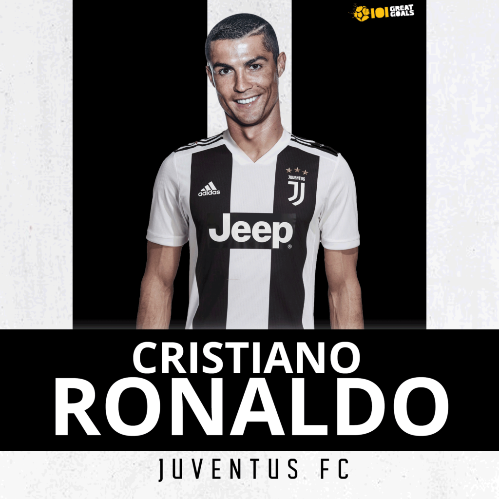 Cristiano Ronaldo will play in Juventus