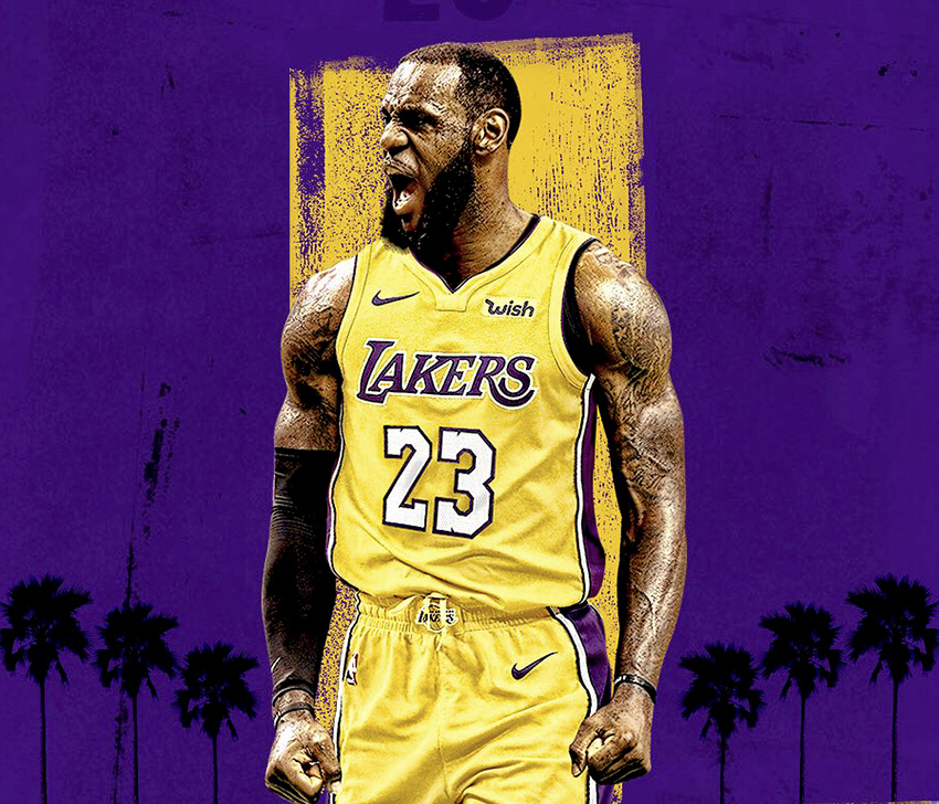 Lebron James LA