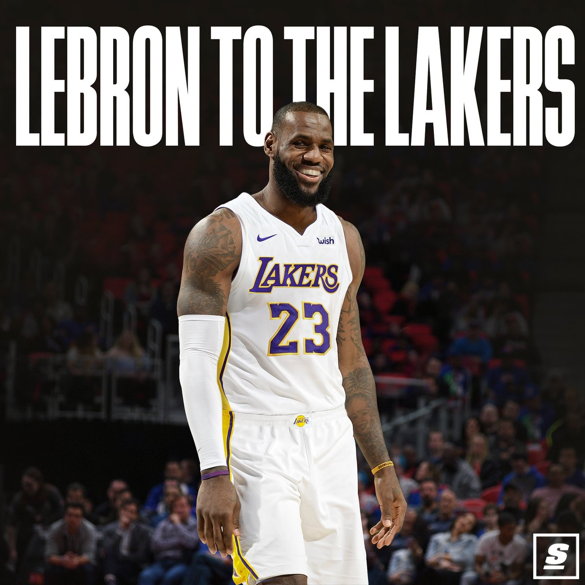 LeBron James to Los Angeles Lakers