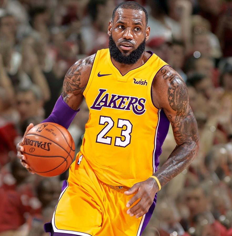 Lebron James LA 2018