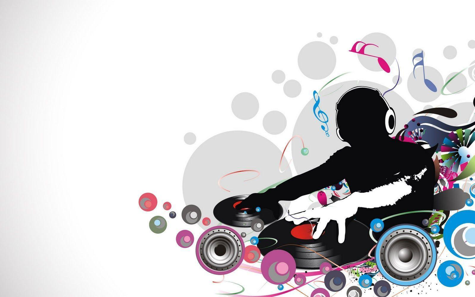 Abstract Colorful DJ Life Graphic Wallpaper | Abstract Graphic ...