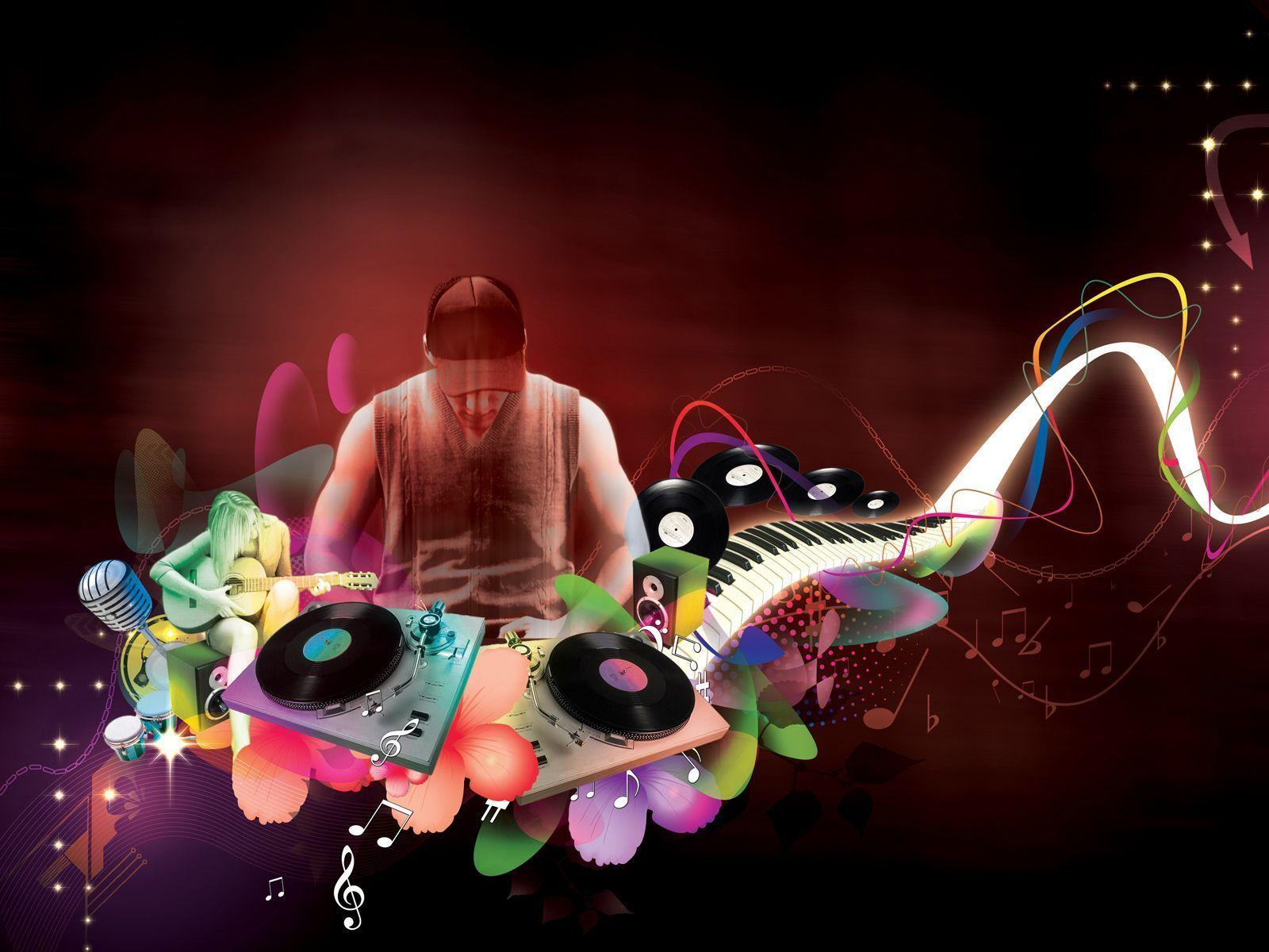 Wallpapers For > Abstract Dj Wallpaper Hd