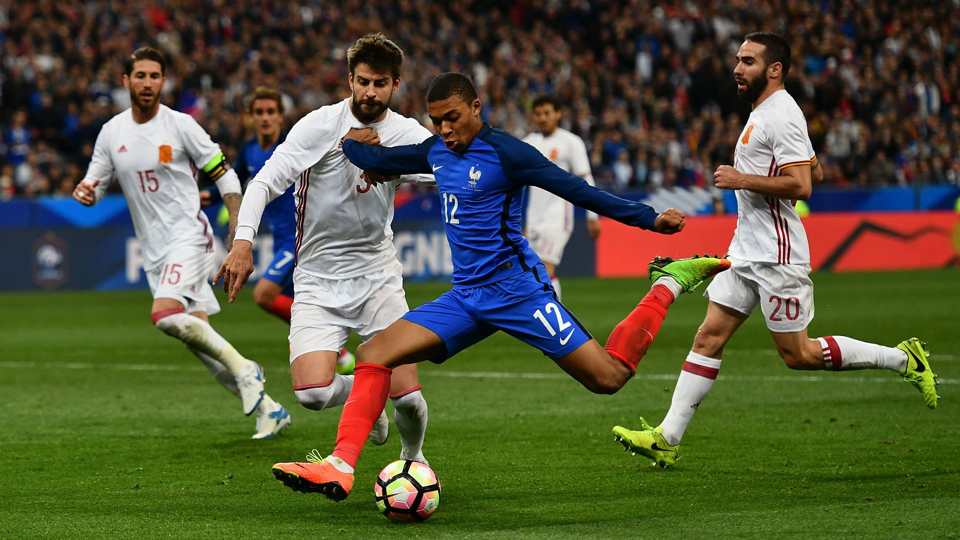 Mbappe to be included in France U20 squad   INTERNATIONAL-FRIENDLIES ...