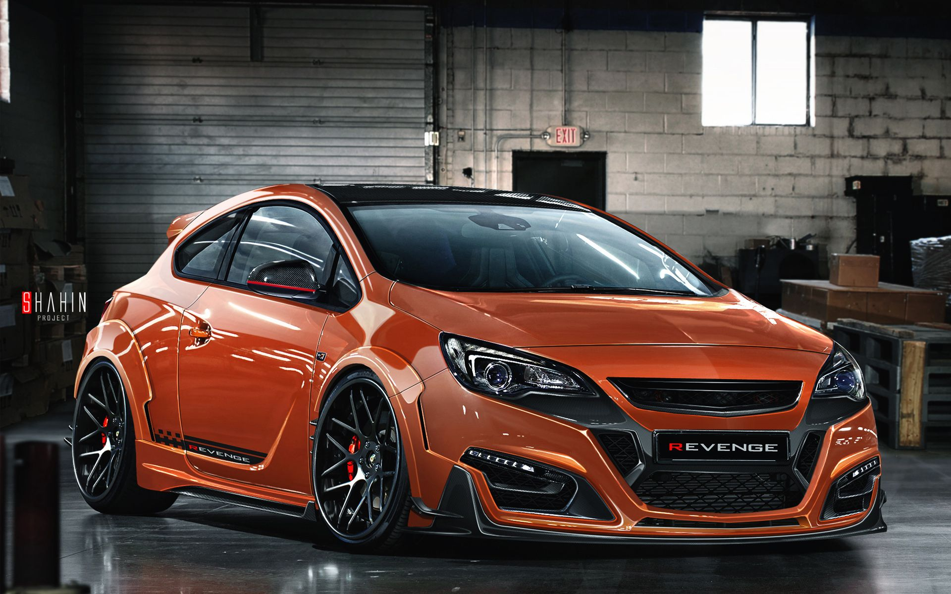 2015 Opel Astra GTC Revenge Wallpaper | HD Car Wallpapers