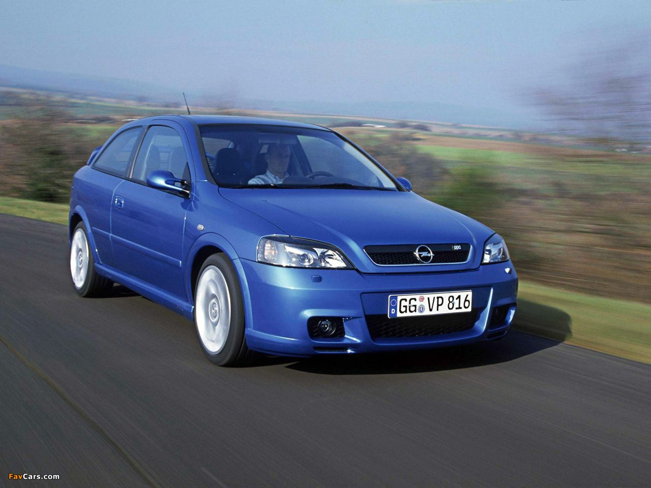 Astra OPC (G) 2002–04 wallpapers