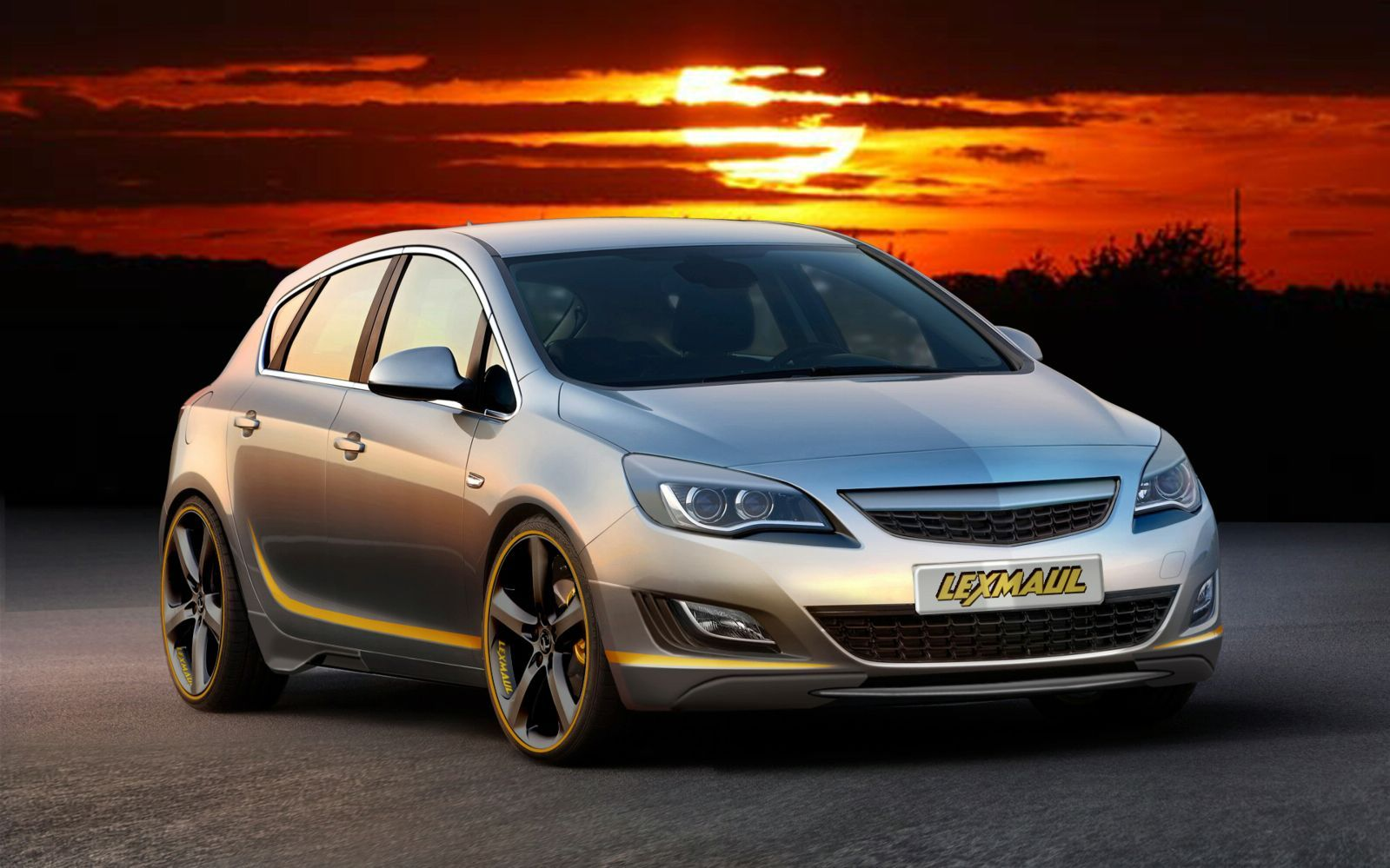 Lexmaul Opel Astra wallpapers - Auto Power Girl
