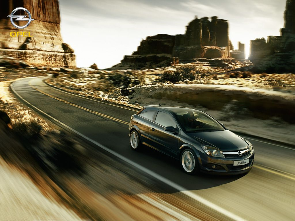 The new Opel Astra. Make your world more exciting.