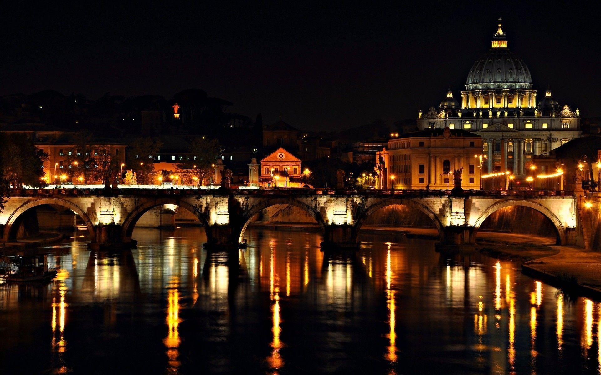 Night On Roma Wallpaper For IPhone #9685 Wallpaper | Wallpaper ...