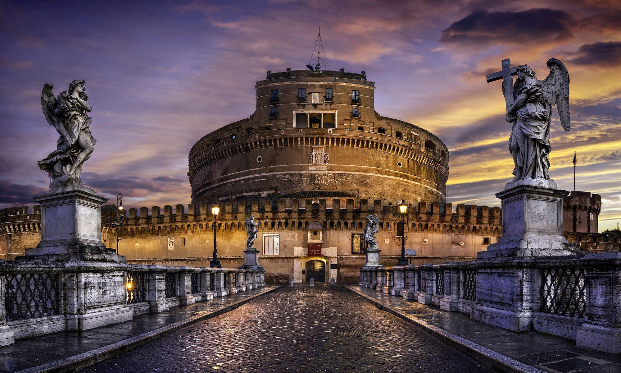 Castel Sant Angelo HD Wallpaper For Desktop in High Quality