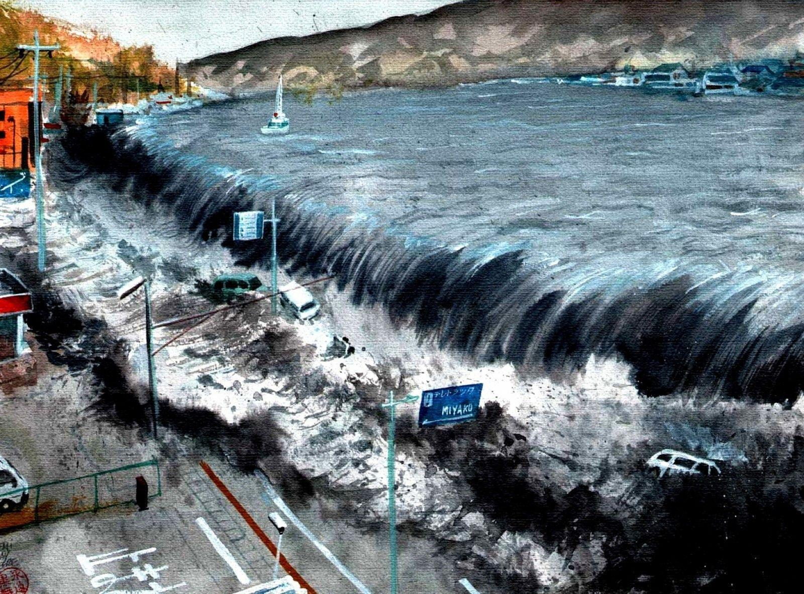 Tsunami Pictures HD Wallpaper 4 - Hd Wallpapers