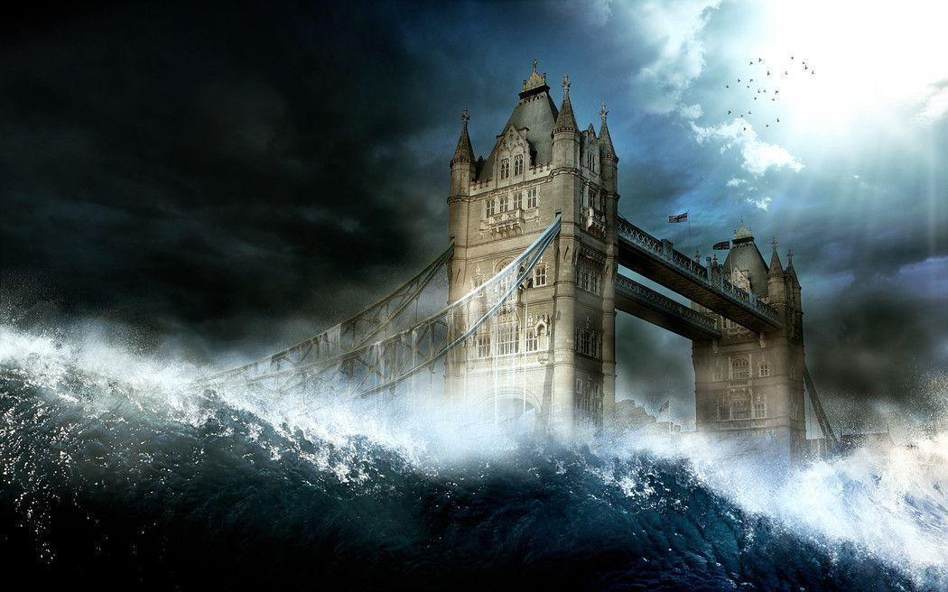 Wallpapers - The End, The Tsunami by FlowGraphic - Customize.