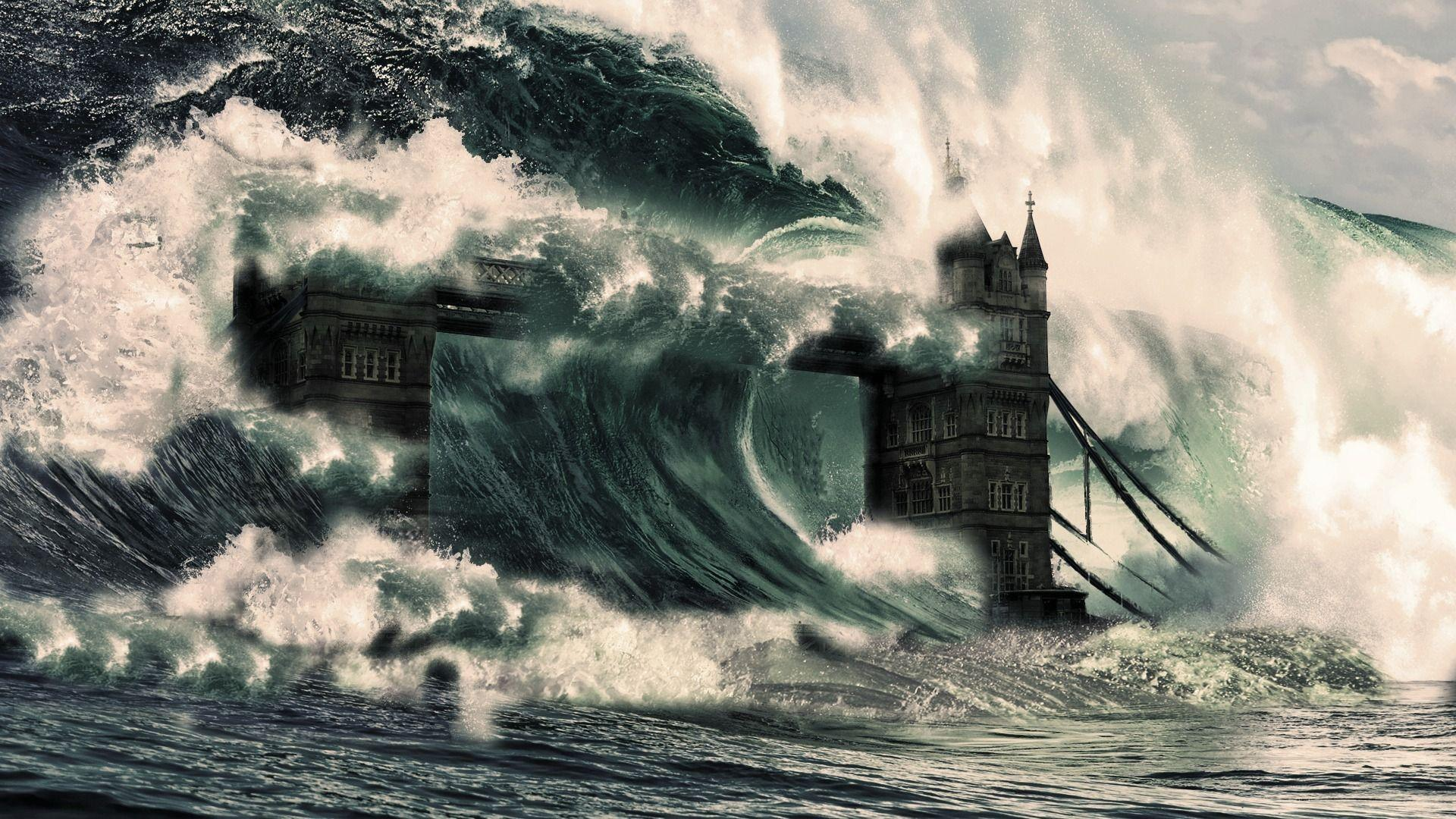 Tsunami Wallpaper 13777 1920x1200 px ~ FreeWallSource.