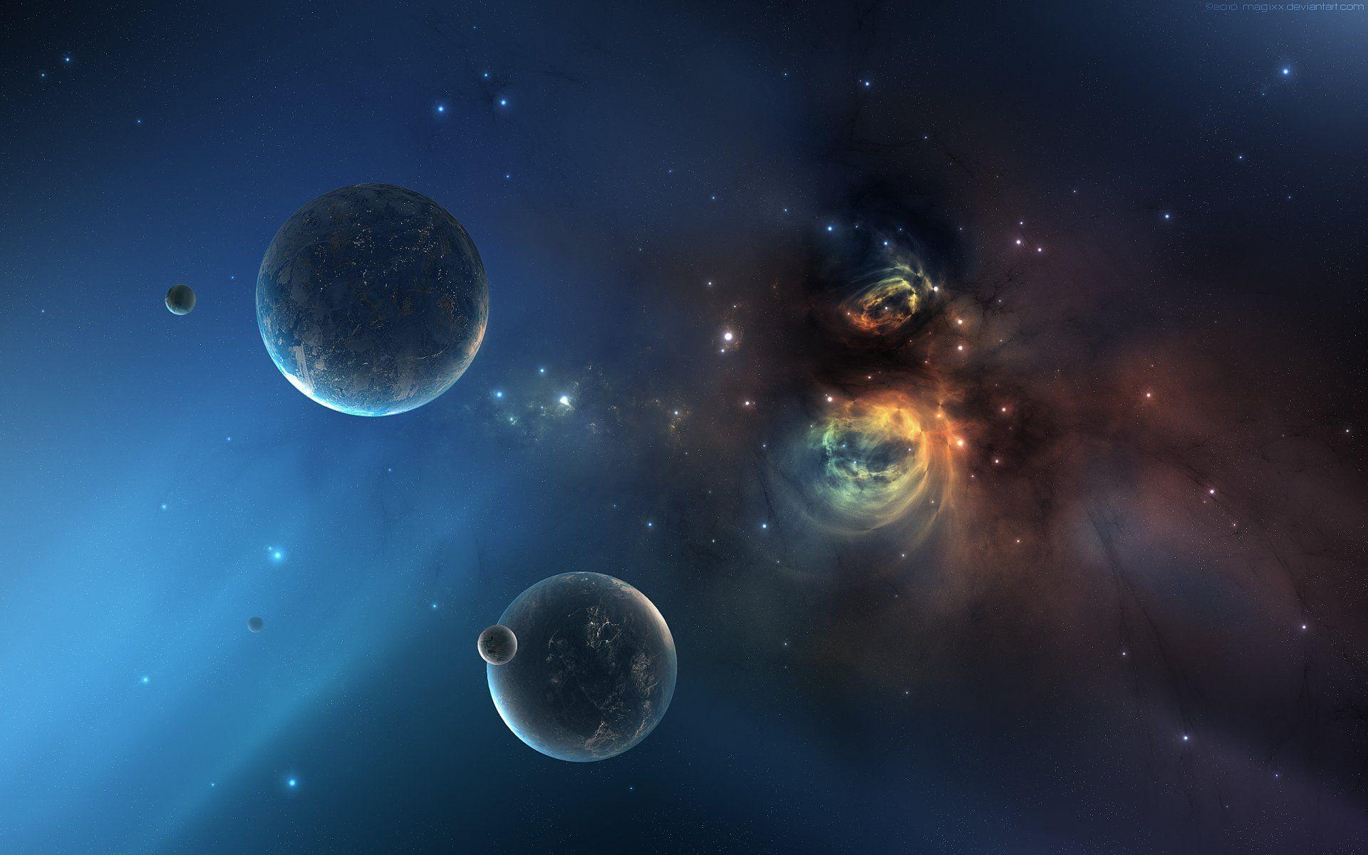 Space And Planets wallpaper - 635479