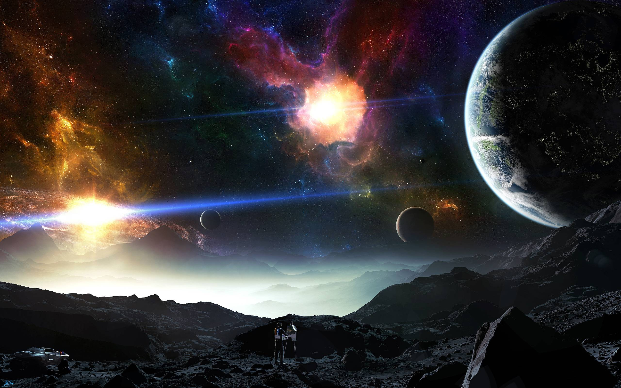 Space Planets Pictures Wallpaper   Wallpaper Download
