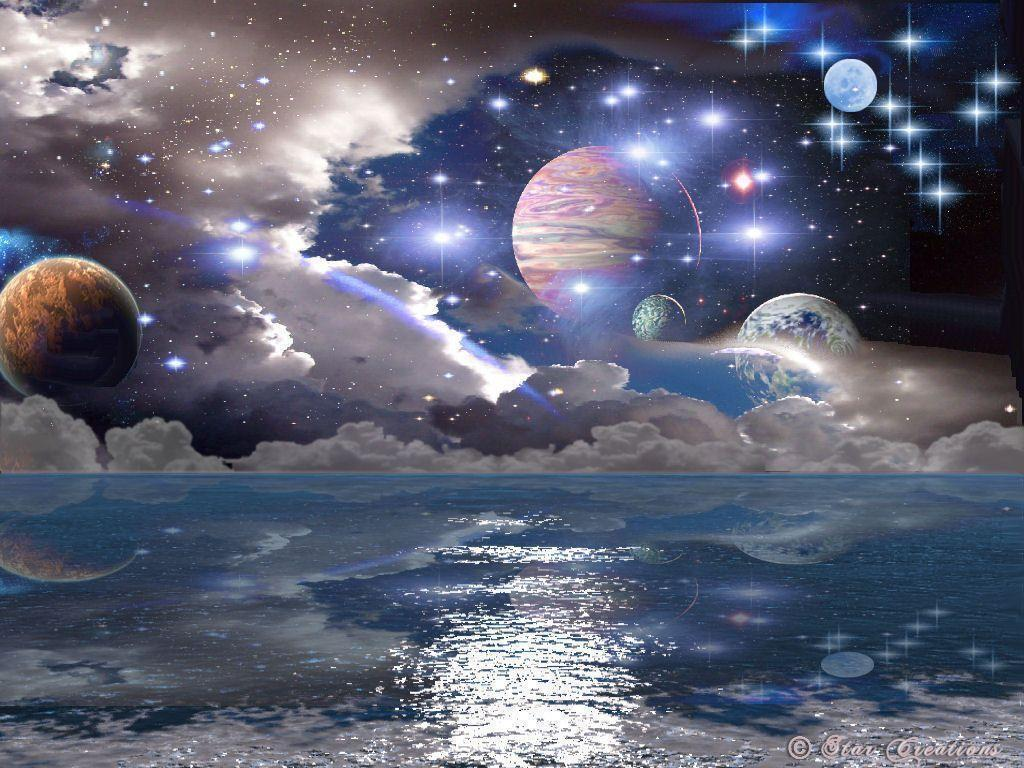 space planets wallpaper img18 «1024x768 «Space art «Universe ...