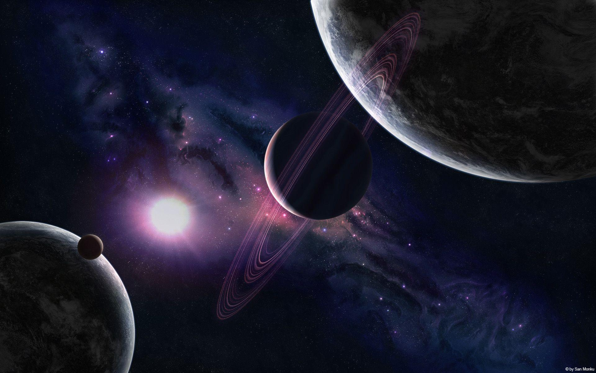 Space Planets 8 Cool Wallpapers HD   HD Image Wallpaper