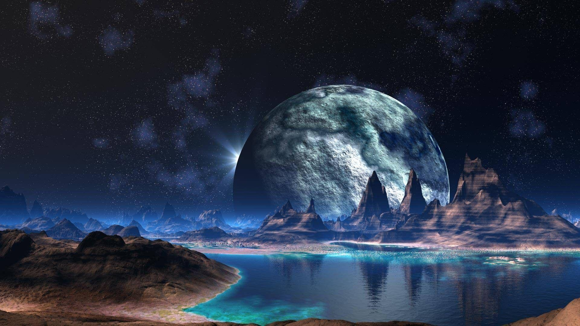 Wallpapers For > Space Planets Backgrounds