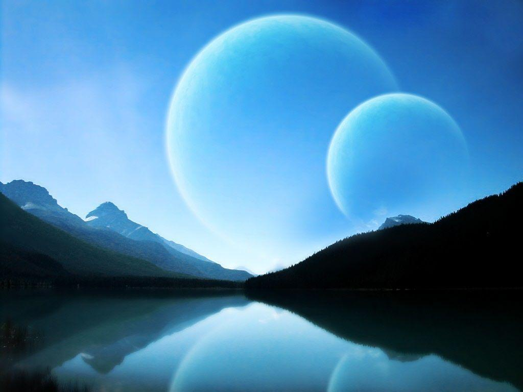 space planets wallpaper img27 «1024x768 «Space art «Universe ...