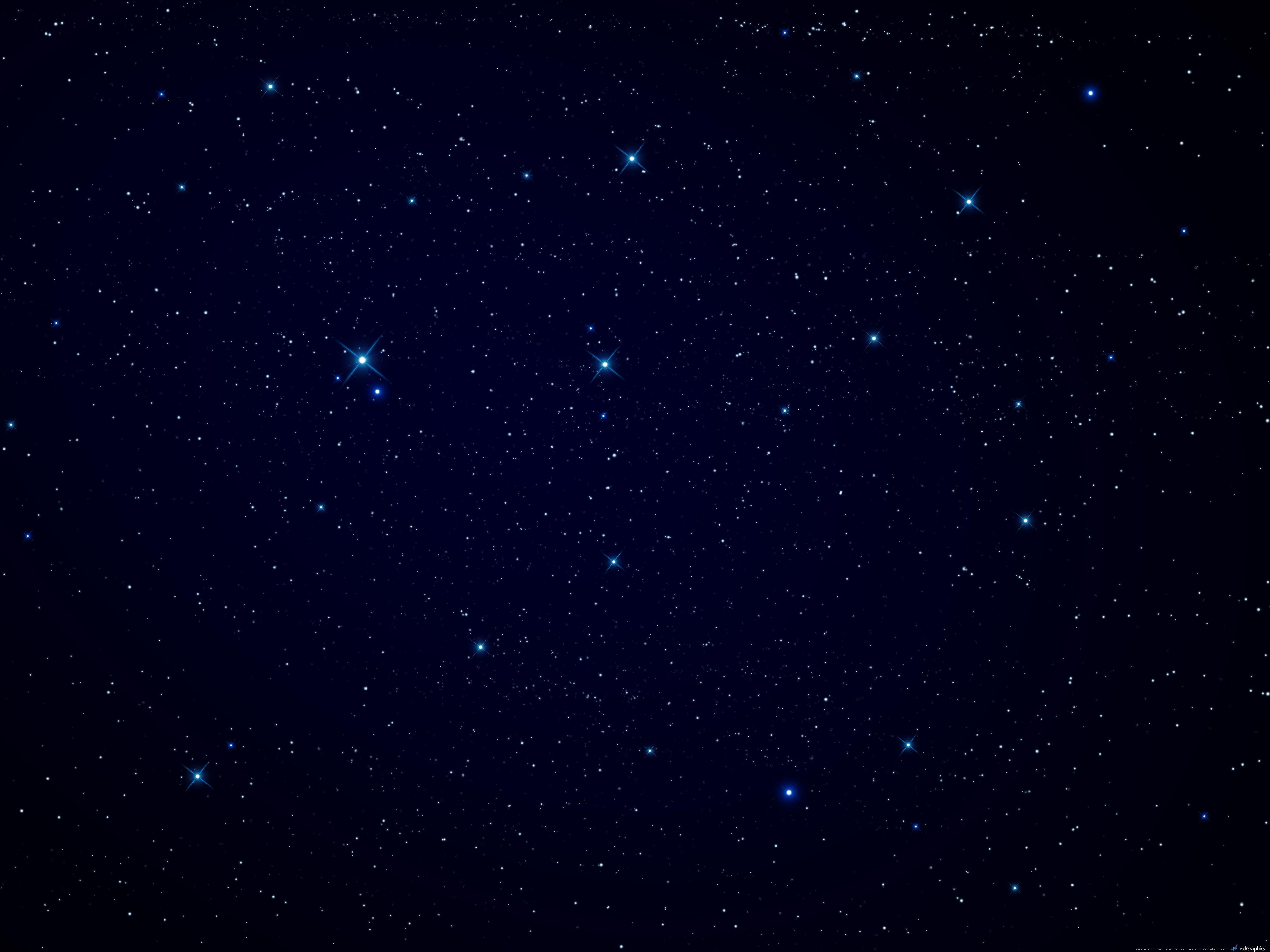 Night sky, stars background | PSDGraphics