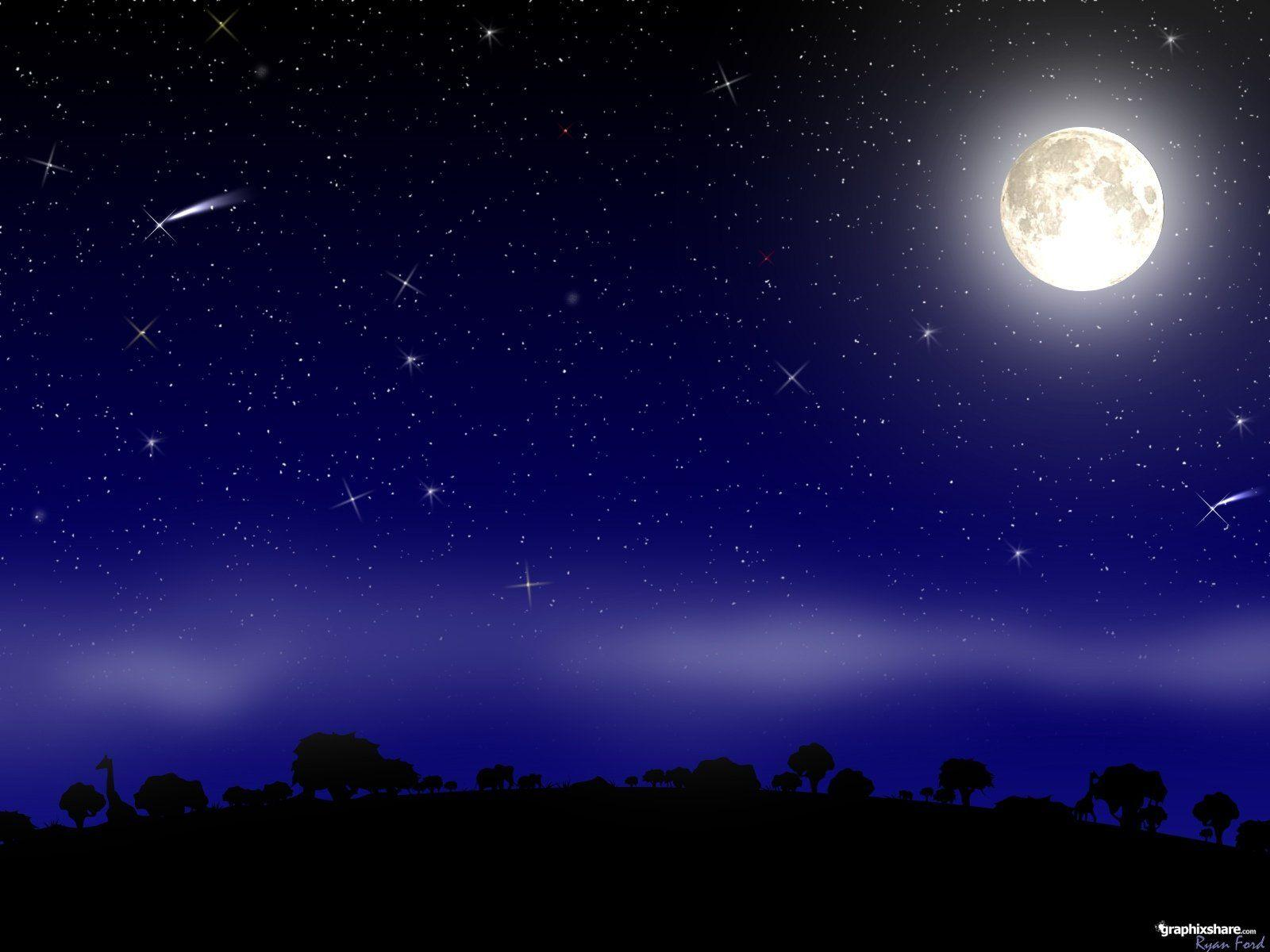 Night Sky Stars Wallpaper | Best Wallpaper