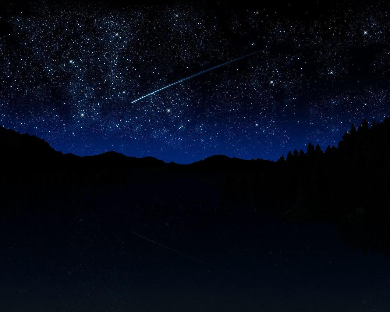 Real Night Sky Wallpaper Hd Images & Pictures - Becuo