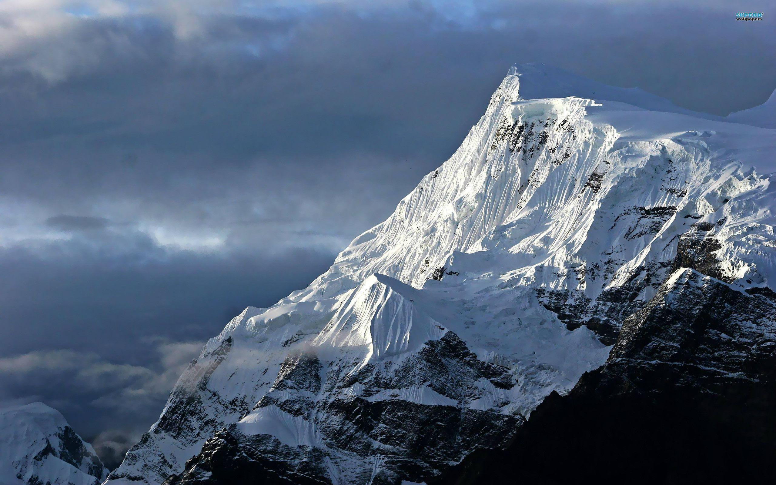 Snowy mountains wallpaper - Nature wallpapers - #