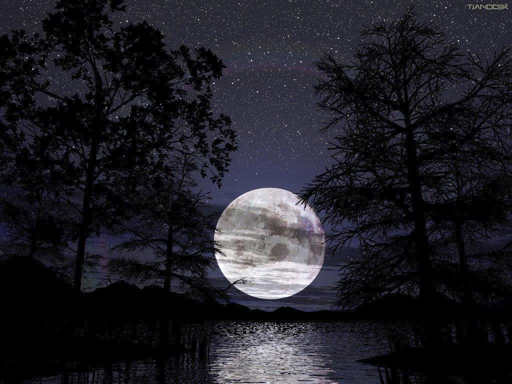 Full Moon Wallpaper   coolstyle wallpapers.