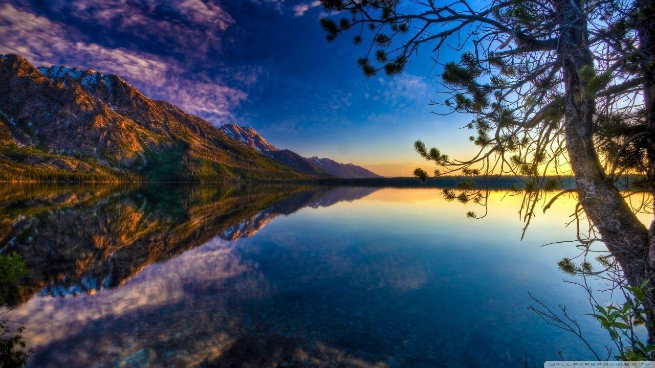 Beautiful Lake HD desktop wallpaper : High Definition : Fullscreen ...