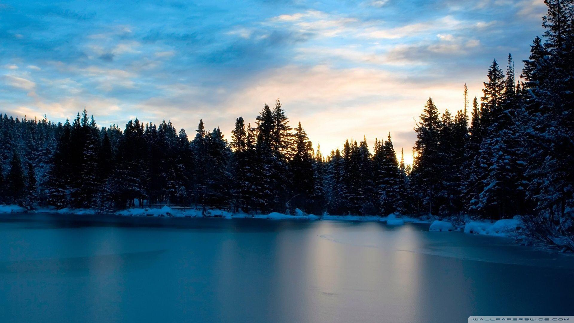 Frozen Lake HD desktop wallpaper : Widescreen : High Definition ...