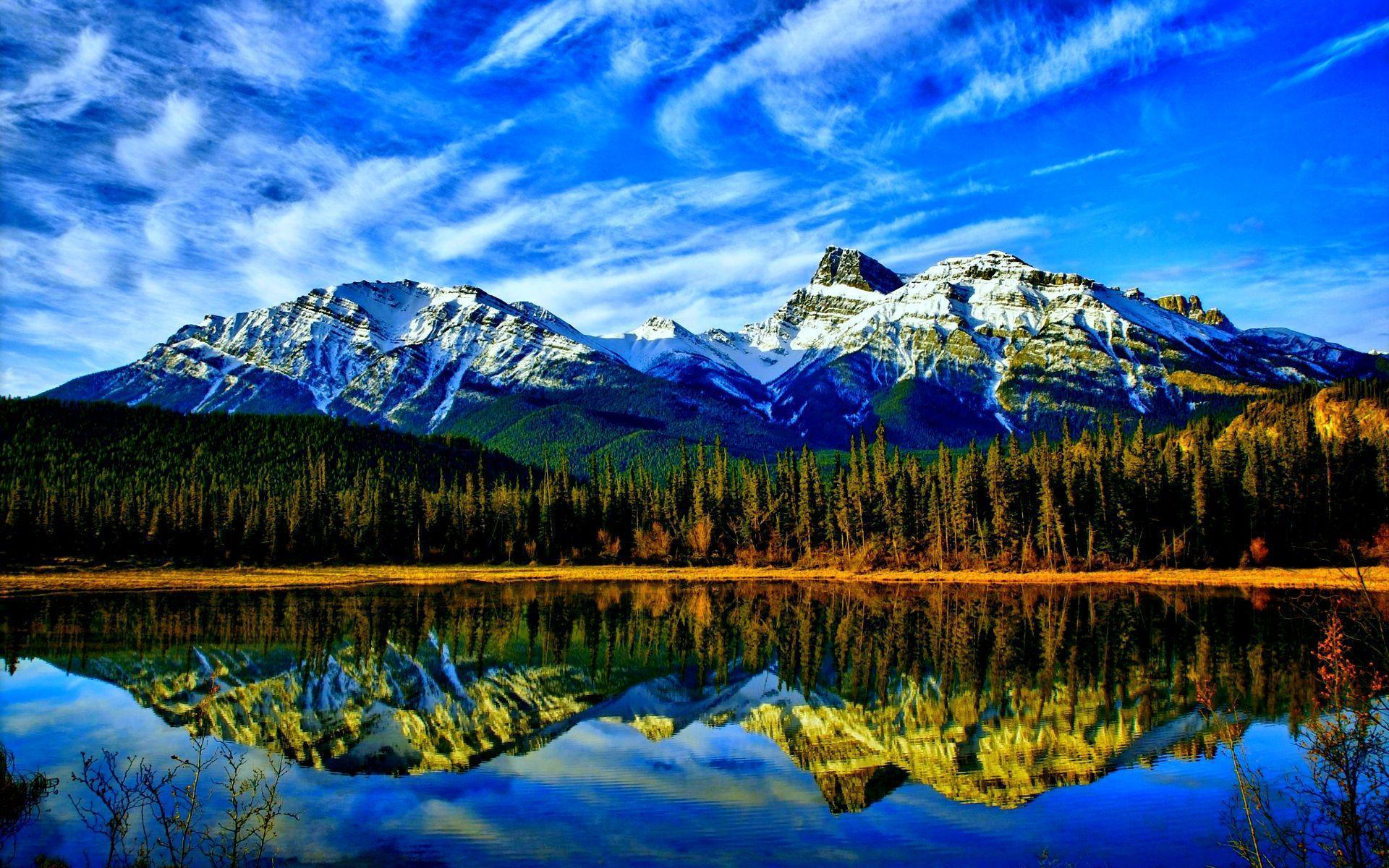 HD Stunning Mountain Lake Wallpapers and Photos | HD Landscape ...