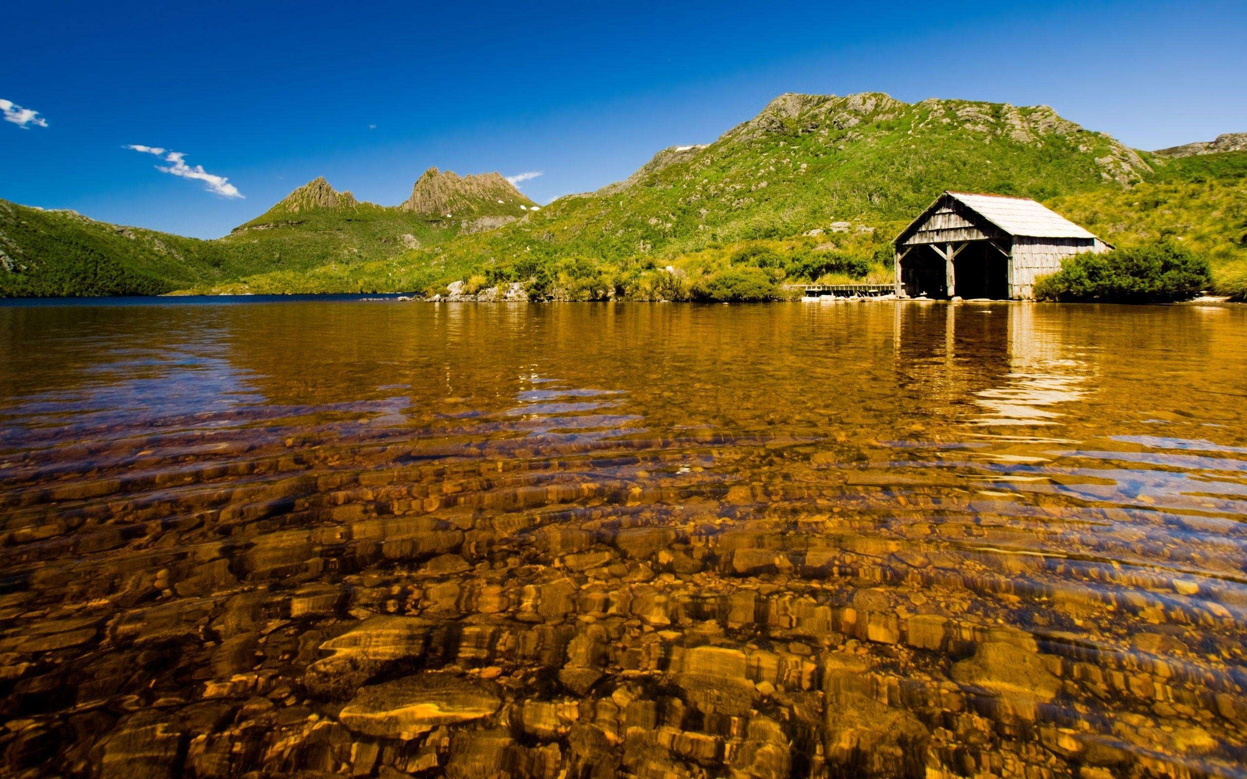 Download the Shallow Boathouse Lake Wallpaper, Shallow Boathouse ...
