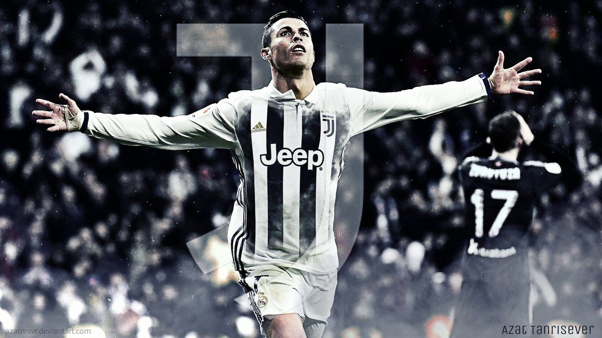 Cristiano Ronaldo Juventus- Wallpaper by Azatnrsvr on DeviantArt
