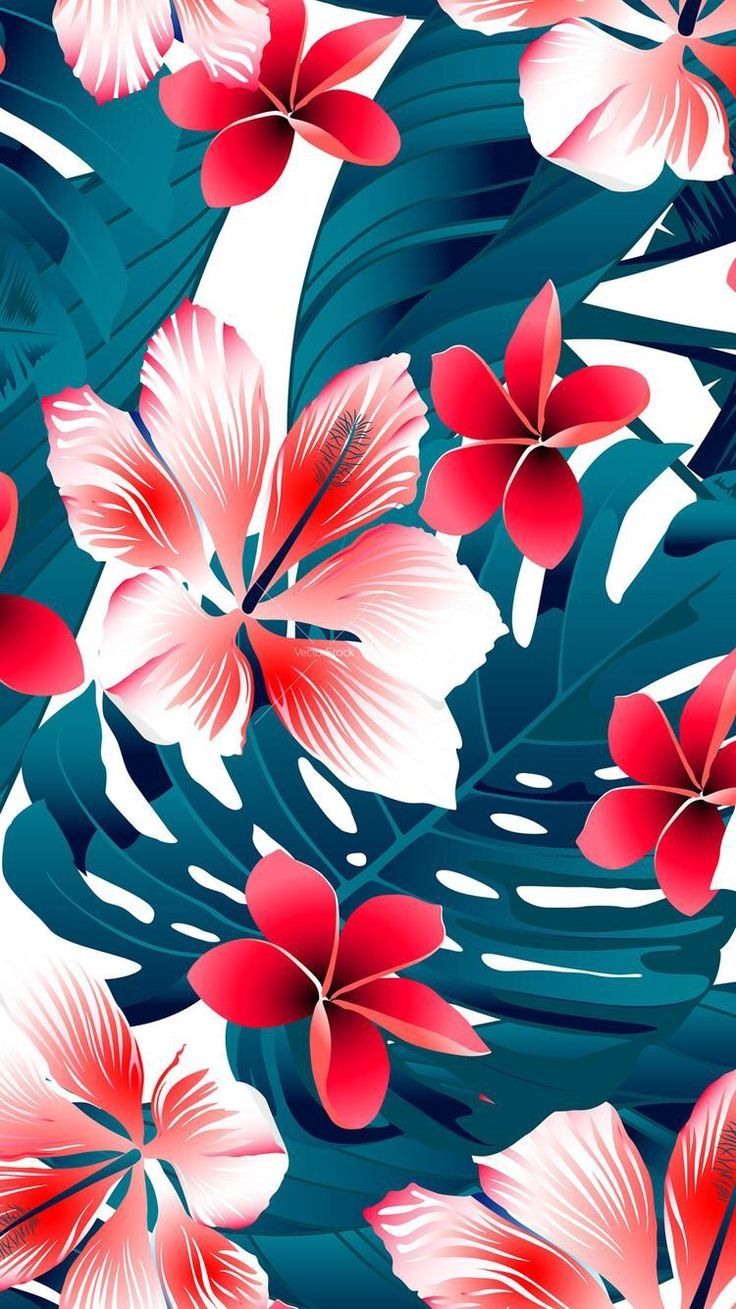 25+ best Tropical background ideas on Pinterest | Tropical leaves ...