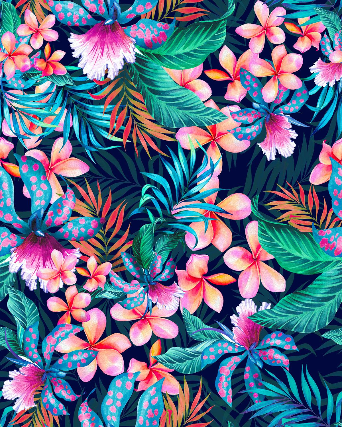 The vivid use of color to give life to every type of flower and ...
