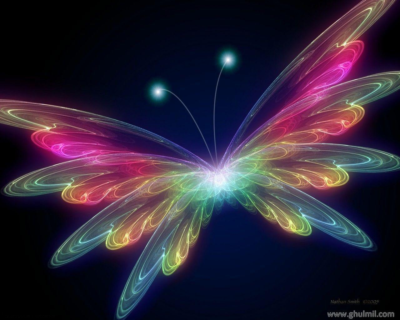 3D Butterfly wallpapers
