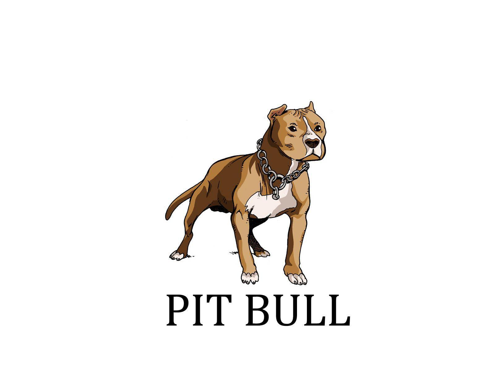 Painted pit bull wallpapers