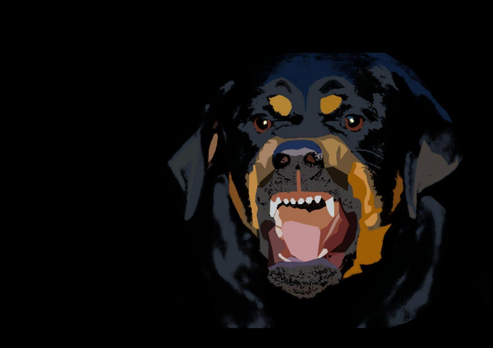 Wallpapers For > Givenchy Rottweiler Wallpaper
