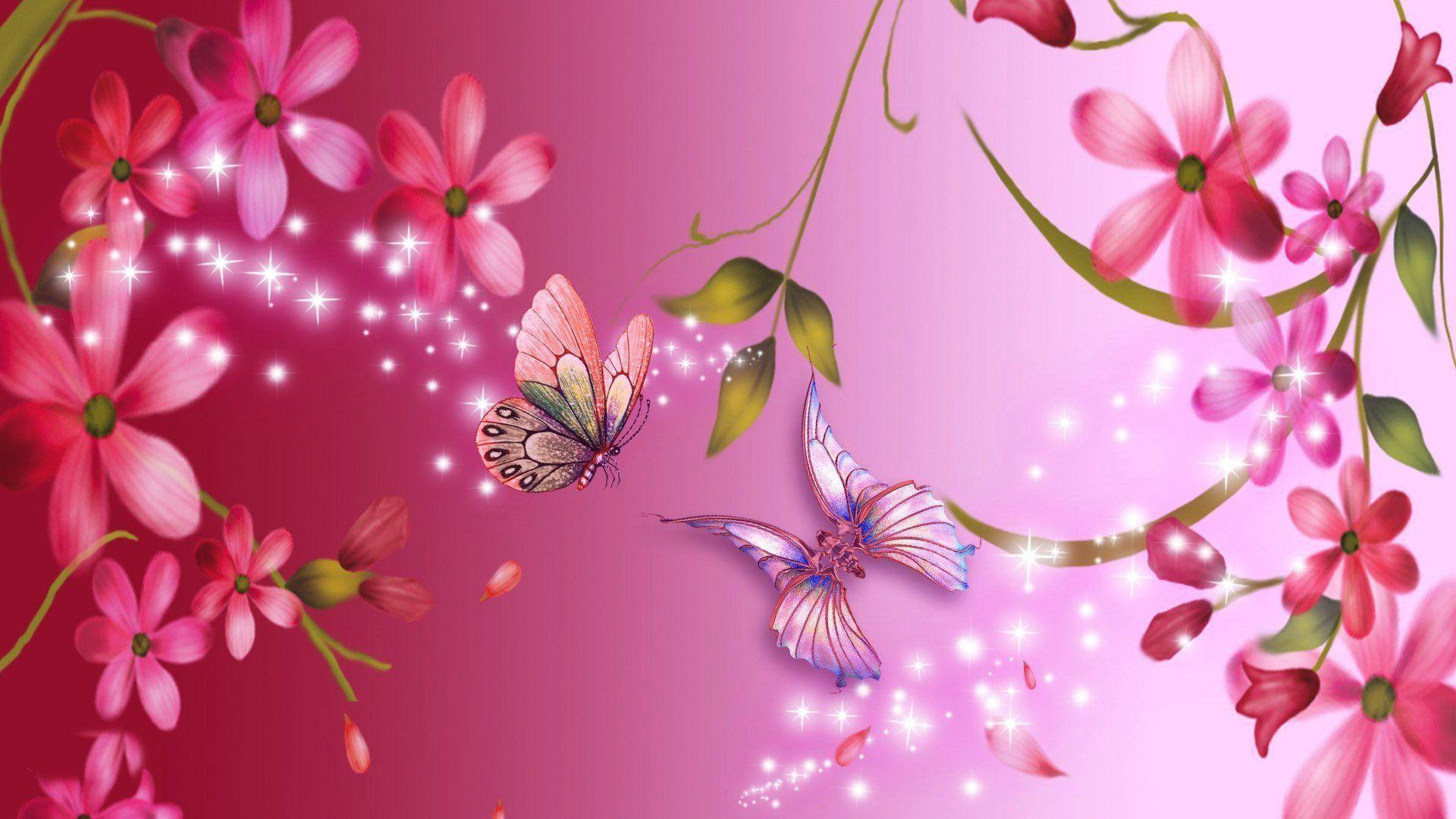 Wallpaper's Collection: «Pink Flowers Wallpapers»