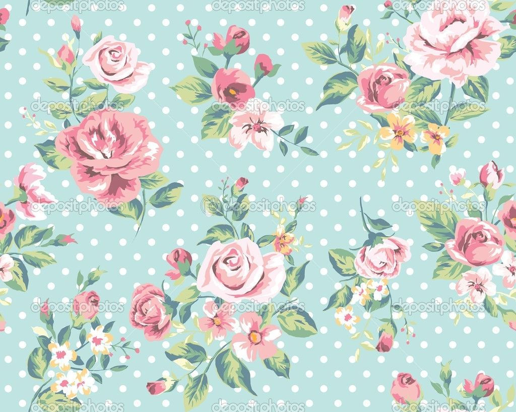 Free Vintage Flower Wallpaper Wide « Long Wallpapers