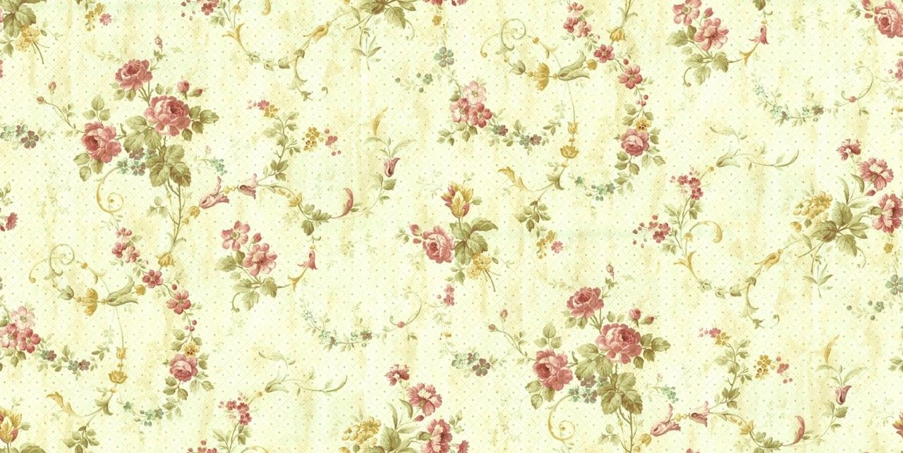 Vintage Flowers Tumblr Desktop Background (1280 x 643 ) - Flower ...