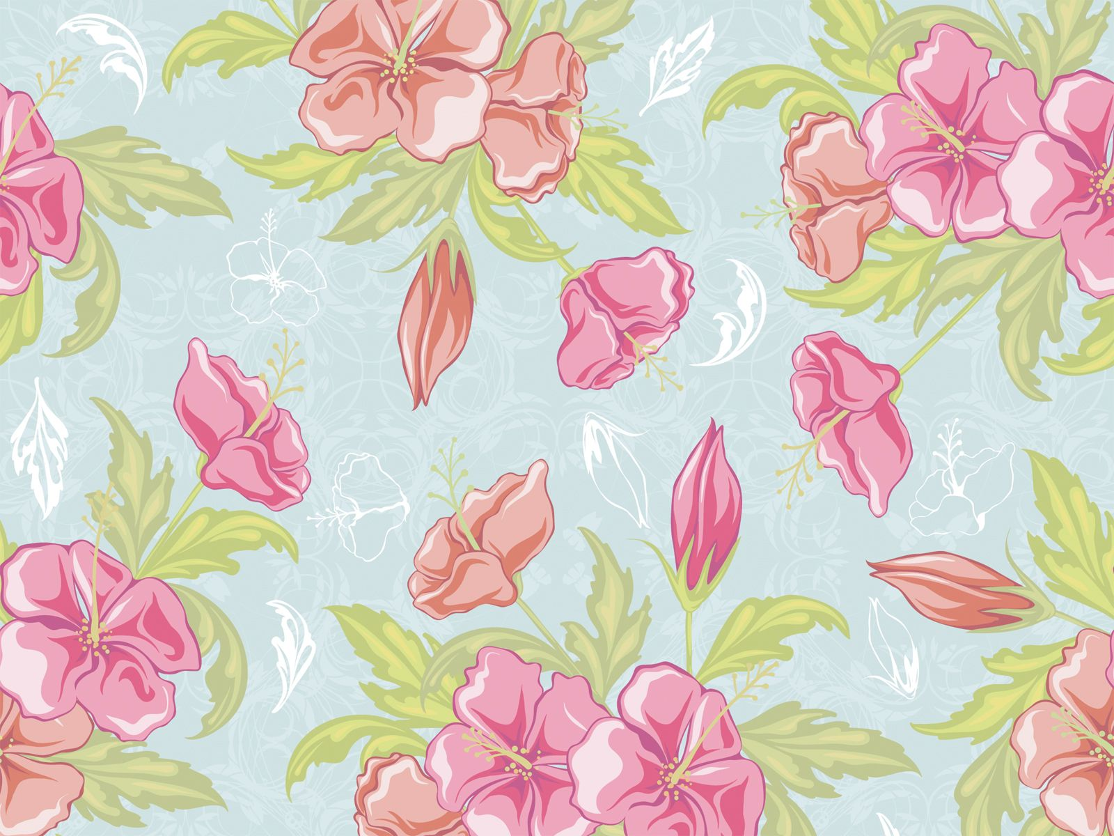 HD Vintage Flower Backgrounds | PixelsTalk.Net