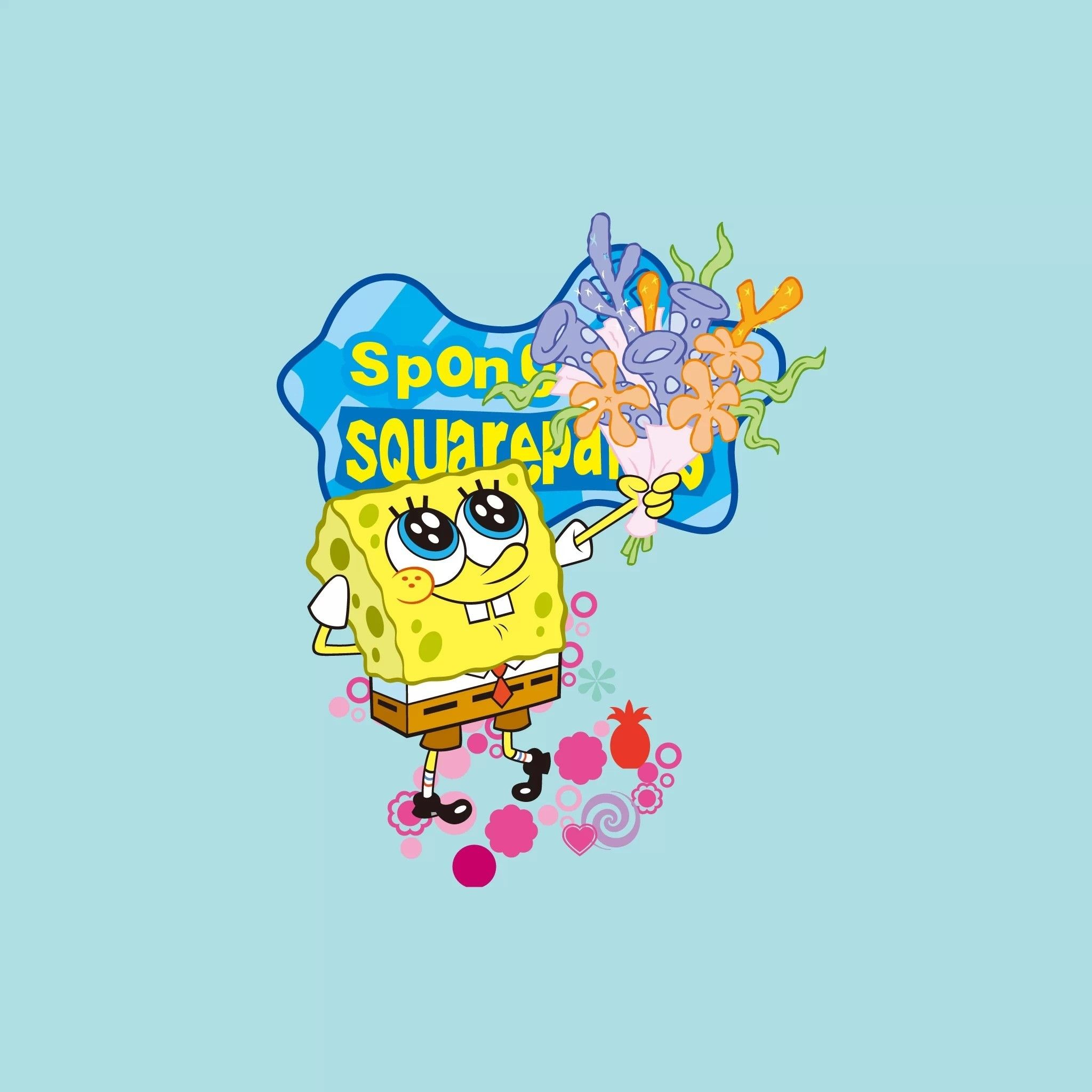 Spongebob Squarepants Flower Clouds - Best Flower 2017