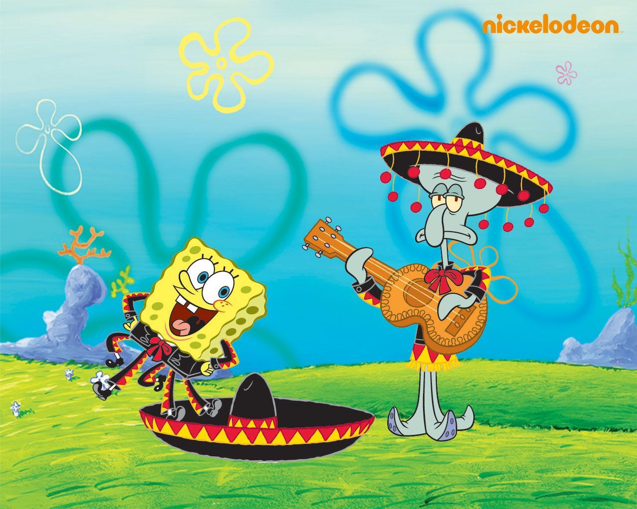 Spongebob & Squidward - spongebob-squarepants Wallpaper | BG ...