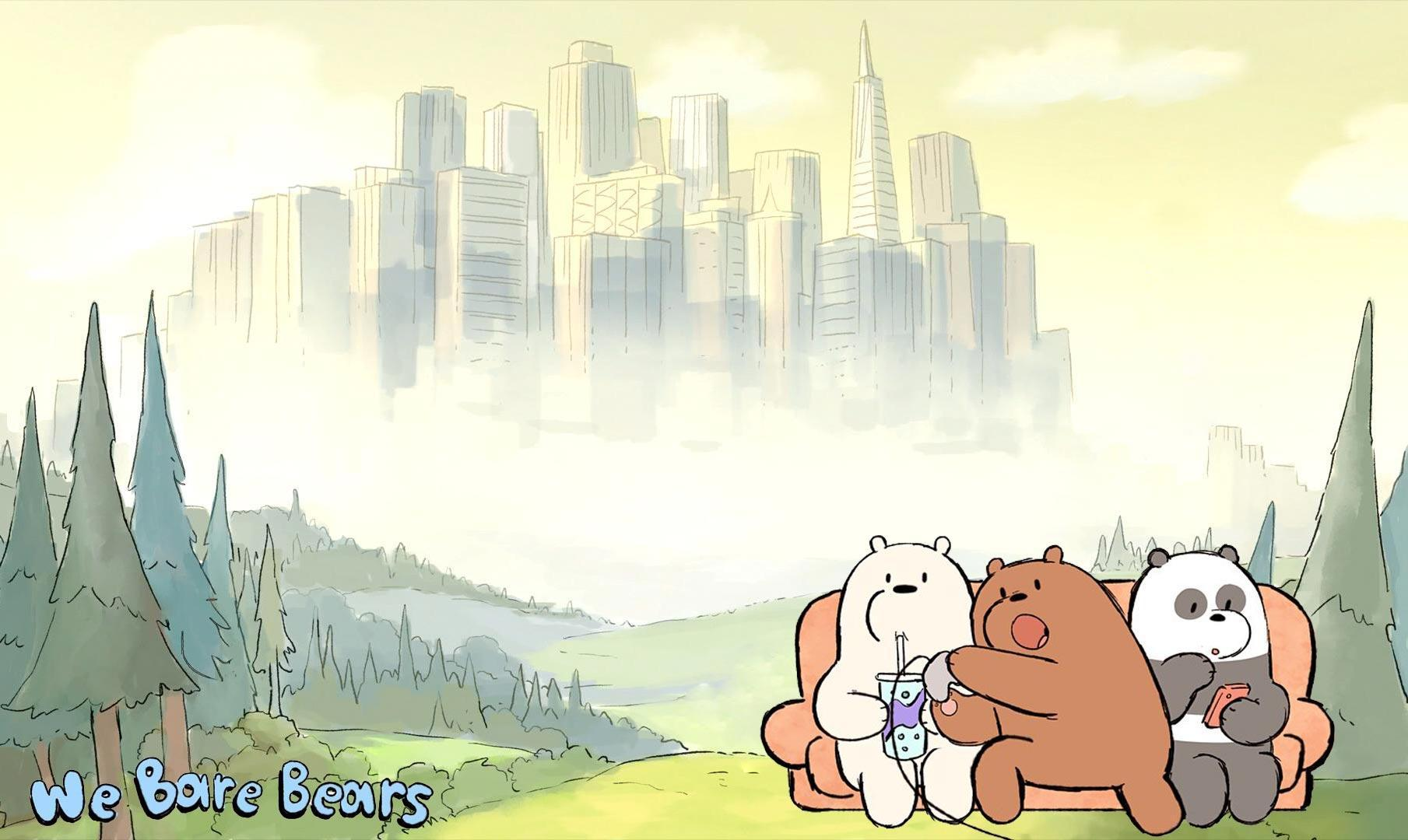 We Bare Bears Wallpapers - because I needed some for myself ...